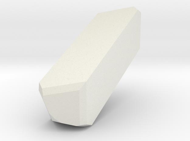 Orthoclase 174 in White Natural Versatile Plastic
