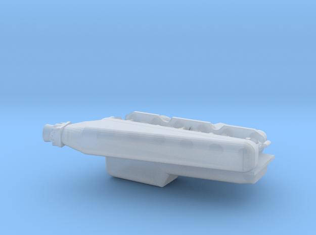 1/24 2JZ engine part 1 in Smooth Fine Detail Plastic