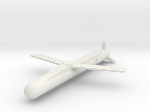 MBDA SPEAR 3 Wings extended 1/144 in White Natural Versatile Plastic
