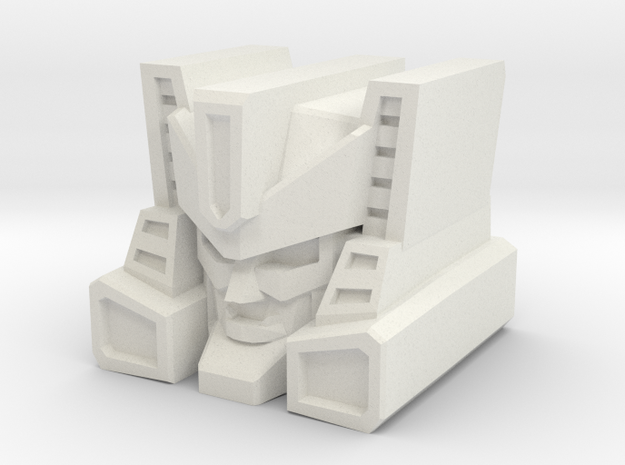 Overhaul Head for TR Brawn/PotP Outback in White Natural Versatile Plastic: Medium