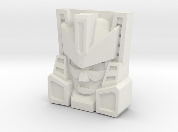Overhaul Face (Titans Return/PoTP) in White Natural Versatile Plastic
