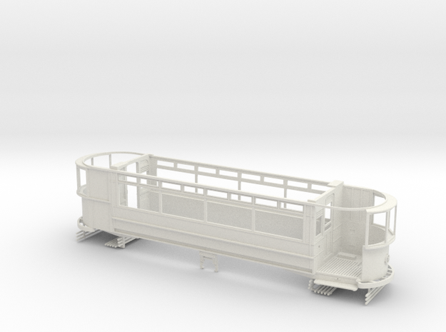 "1:43 London Transport ""Standard"" E/1-Part1 in White Natural Versatile Plastic"