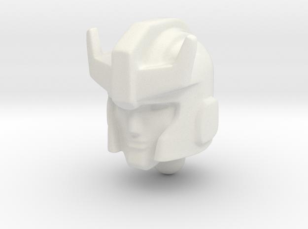 Prowlhead 23mm in White Natural Versatile Plastic