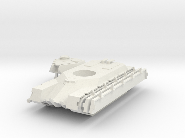 1/100 TVS-2 Breakthrough Tank in White Natural Versatile Plastic