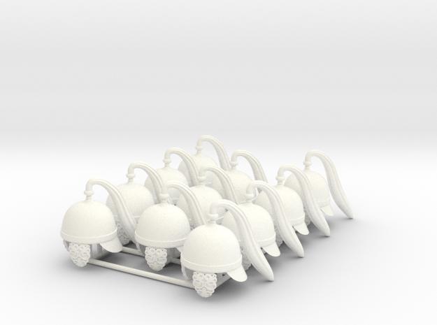 ETHAN 21  in White Processed Versatile Plastic