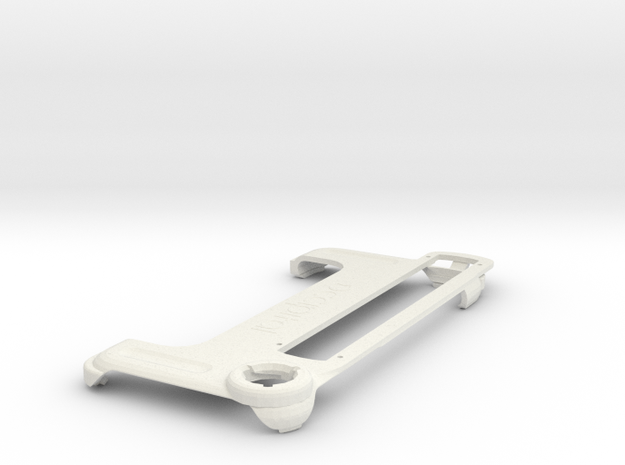 Structure Sensor Case - iPhone 7/8 in White Natural Versatile Plastic