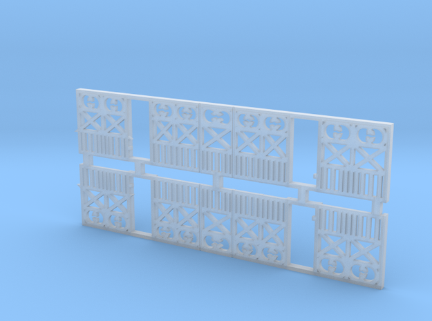 o-76-wcpr-end-balcony in Smooth Fine Detail Plastic