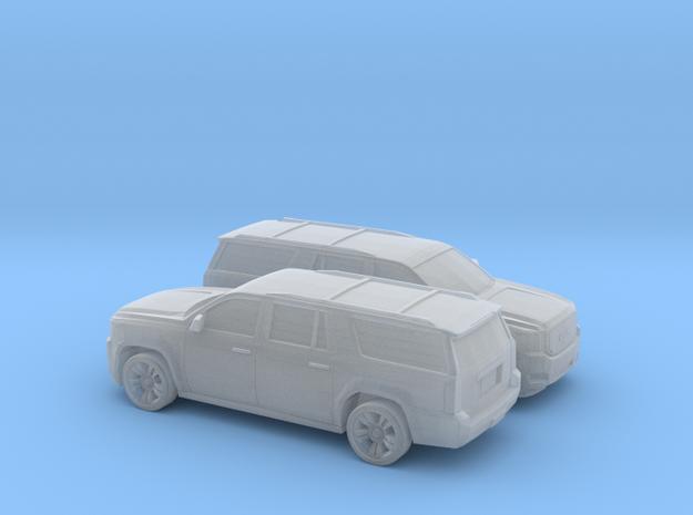 1/160 2X 2013-19 GMC Yukon XL in Smooth Fine Detail Plastic