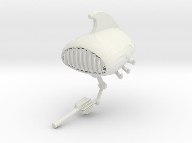 Speakerbot in White Natural Versatile Plastic
