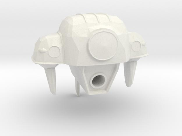 Radiobot in White Natural Versatile Plastic