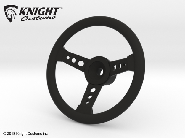 CT10017 C10 Steering wheel in Black Natural Versatile Plastic