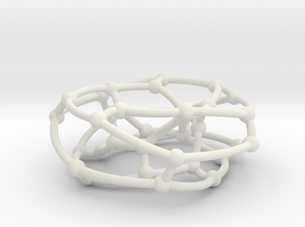 F38A graph on torus in White Natural Versatile Plastic