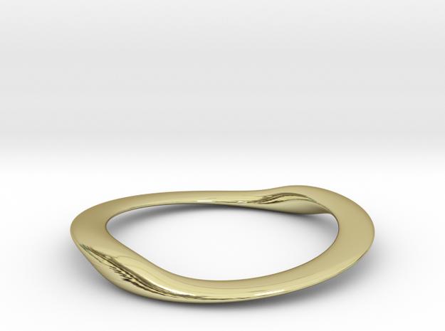 BENTorus Steel 0012flat in 18k Gold Plated Brass