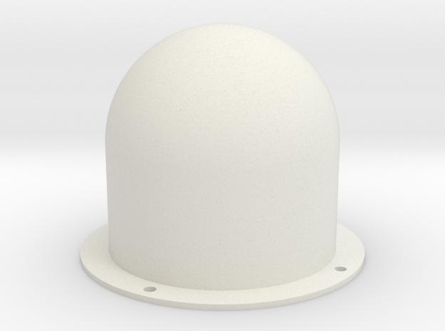 JRAN900 Antenna Radome in White Premium Versatile Plastic