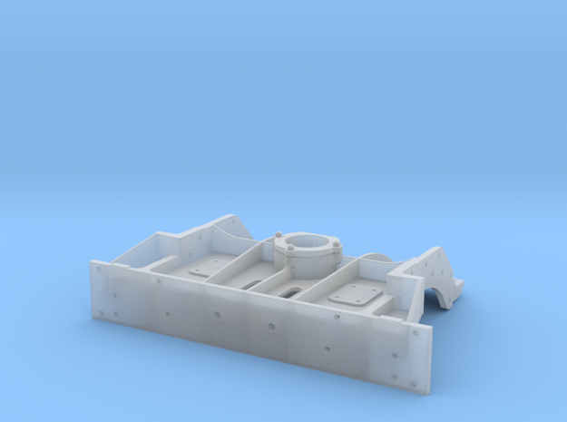 On3 K-36-37 Front Footplate Whole in Smooth Fine Detail Plastic