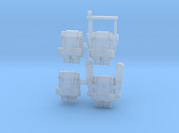Vanguard Trooper Backpacks in Smoothest Fine Detail Plastic