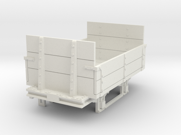 a-35-gr-turner-open-wagon in White Natural Versatile Plastic