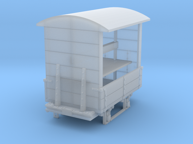 a-76-gr-turner-covered-wagon in Smooth Fine Detail Plastic