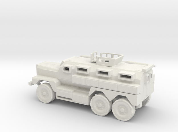 1/100 Scale MRAP Cougar 6x6 with Turret