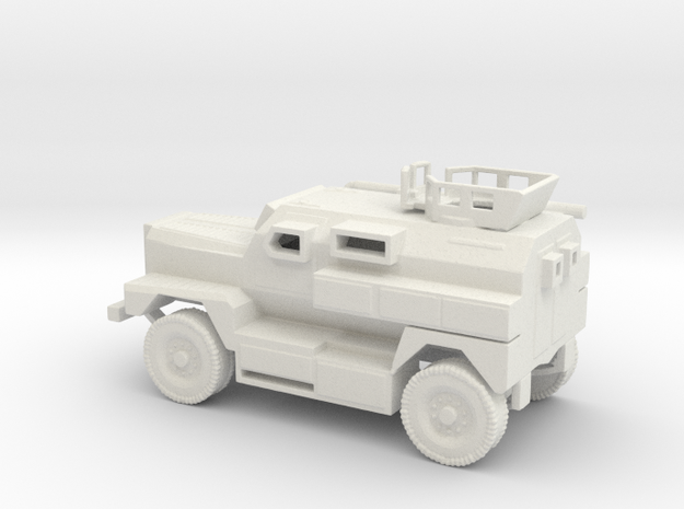 1/100 Scale MRAP Cougar 4x4 with Turret