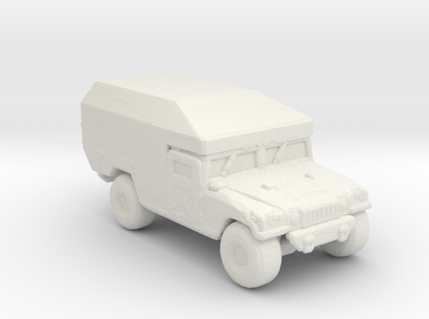 M997 Ambulance 220 scale in White Natural Versatile Plastic