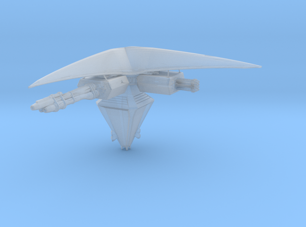 Narn Defense Platform 30mm in Smooth Fine Detail Plastic