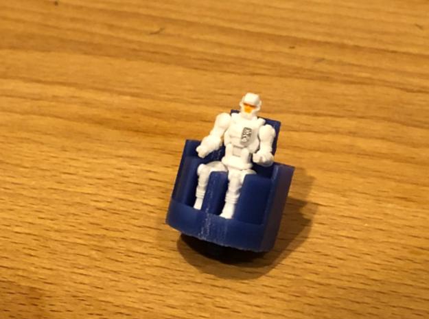 Diaclone Seat (Multiple Versions) in Blue Processed Versatile Plastic: Small