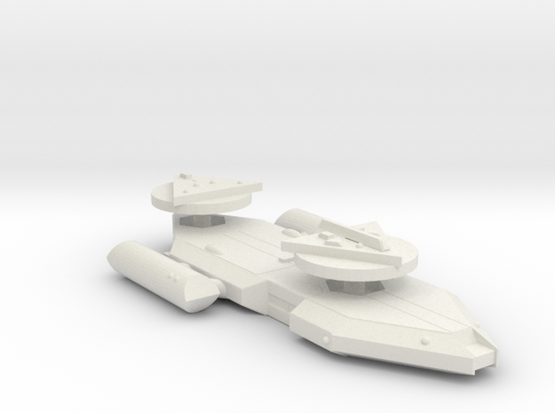3788 Scale Worb Heavy Cruiser (CA) MGL in White Natural Versatile Plastic