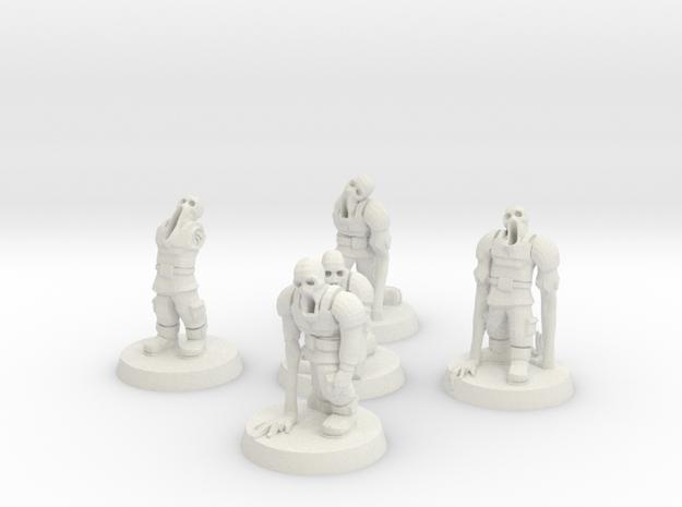 Guardsmen Thralls (28mm Scale Miniature)