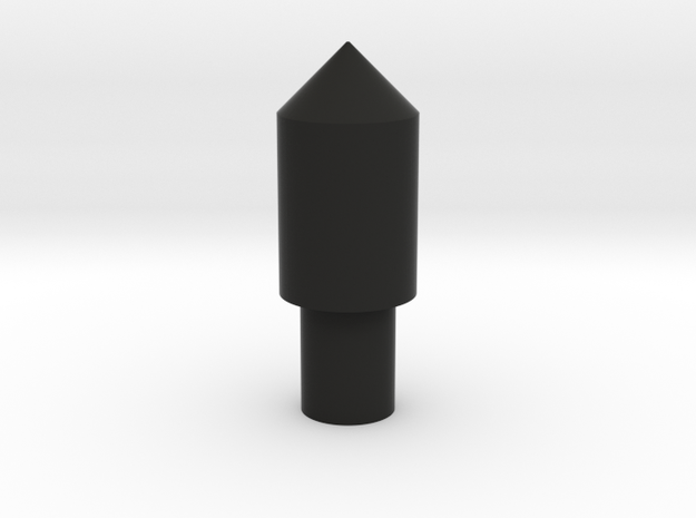 123 block peg 2 in Black Natural Versatile Plastic