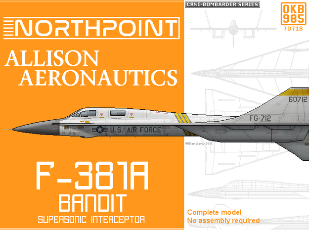 F-381A Bandit Interceptor Aircraft
