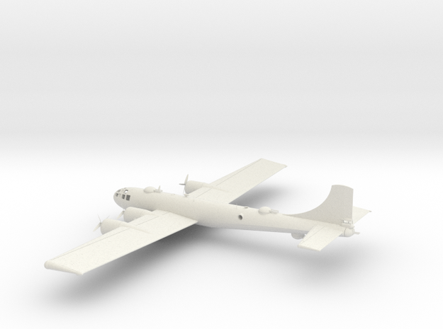 B-29 Bomber available in 1:144, 1:160, 1:200, 1:40 in White Natural Versatile Plastic: 1:200