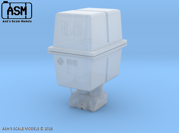 1/12 STARWARS GONK DROID in White Natural Versatile Plastic