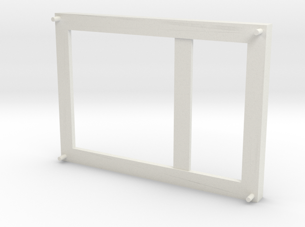 Screen_bracket_mod_2 in White Natural Versatile Plastic