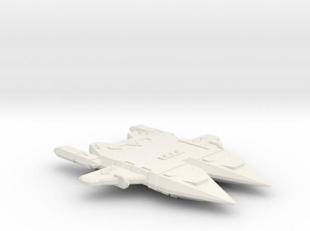 3125 Scale Orion Double Raider CVN in White Natural Versatile Plastic