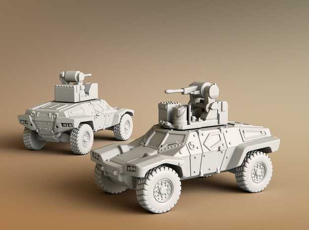 Panhard CRAB Scale: 1:100 in Smooth Fine Detail Plastic