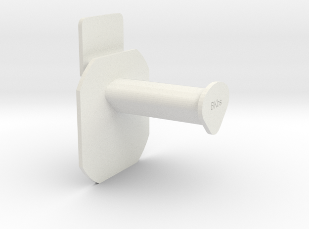 Flashforge Creator Pro Spool Holder / Rollenhalter in White Natural Versatile Plastic
