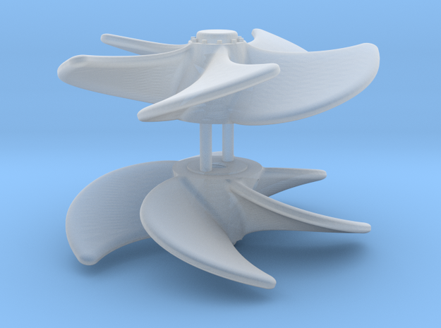 ASD 2810 MKII - Propeller (2 pcs) in Smooth Fine Detail Plastic