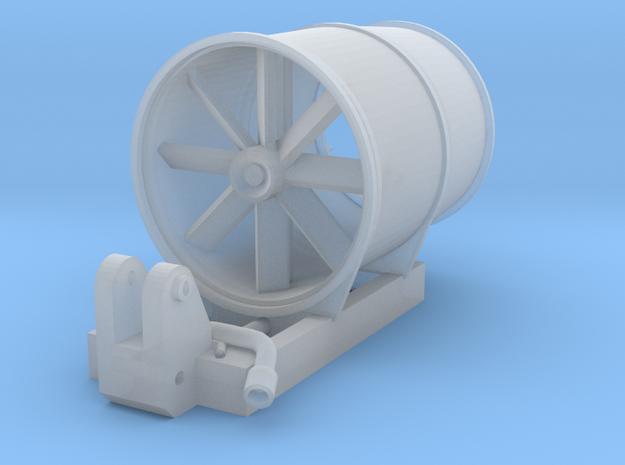 Dust suppression turbine for 1:50 Excavators in Smooth Fine Detail Plastic