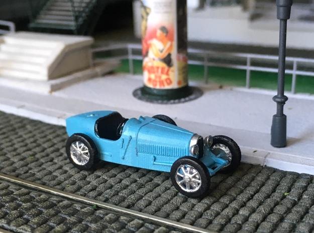 Bugatti 35 - Ho - 1/87 in Smooth Fine Detail Plastic