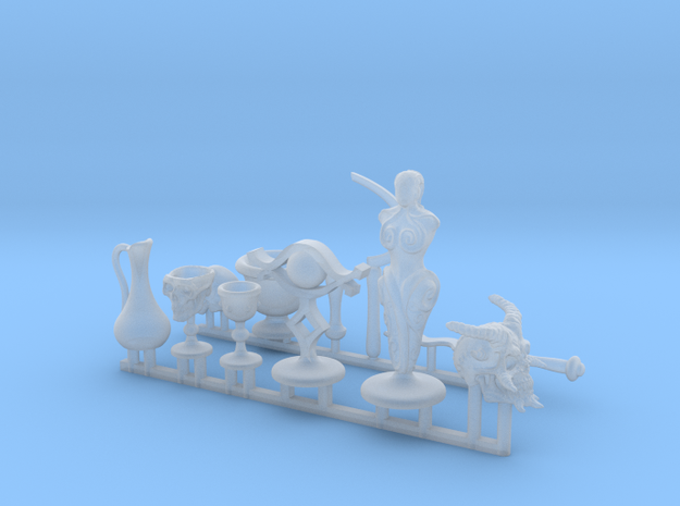 Altar, Magic, and Ritual items for roleplay encoun in Smooth Fine Detail Plastic