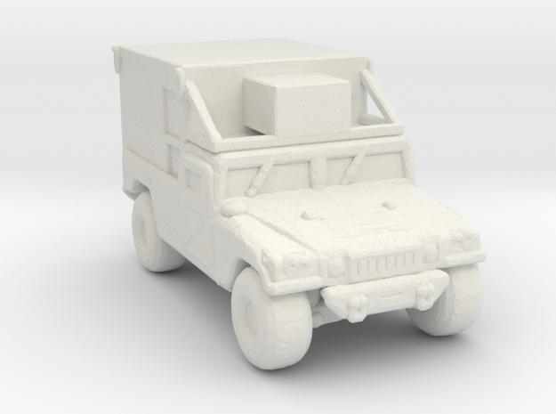 M1097a2-S788 285 scale in White Natural Versatile Plastic