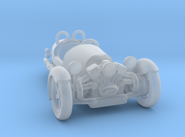 Morgan 3 Wheeler 1:87 HO in Smooth Fine Detail Plastic