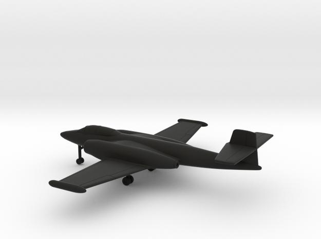 Avro Canada CF-100 Canuck Mk3 in Black Natural Versatile Plastic: 1:200