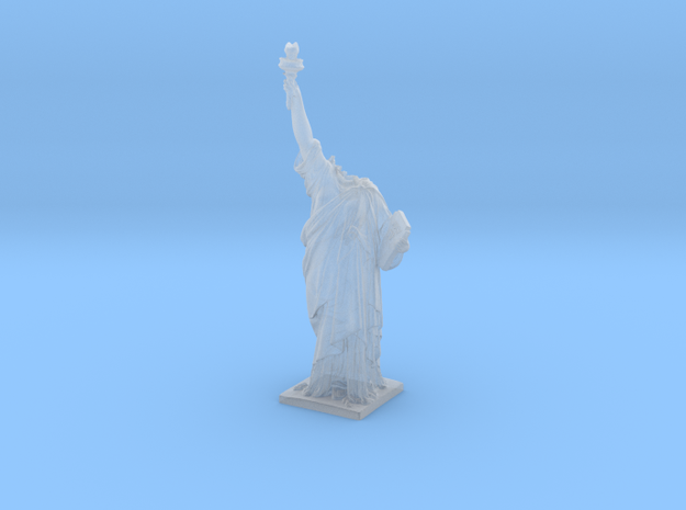 Cloverfield Statue of Liberty  in Smooth Fine Detail Plastic