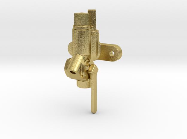 "1/8"" scale Retainer Valve Brass in Natural Brass"