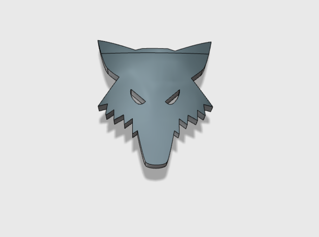 60x Wolf Head - Shoulder Insignia pack
