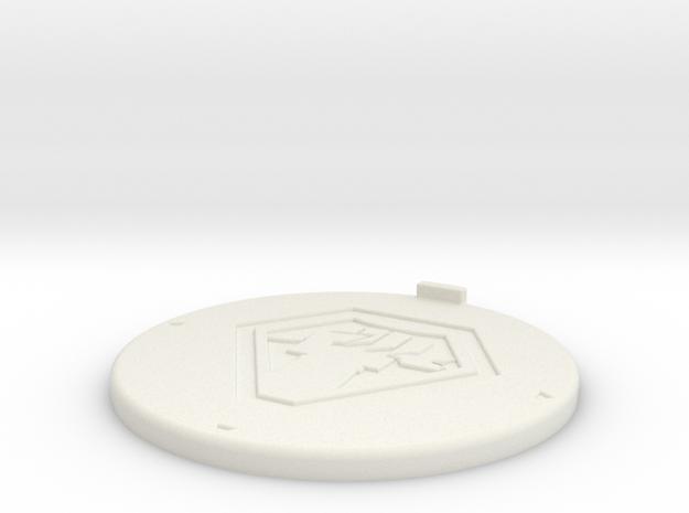 Base Malc ø40 in White Natural Versatile Plastic