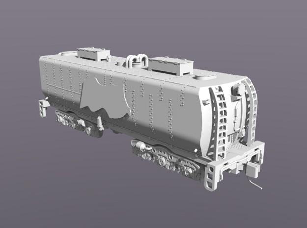 UP Water Tenders N Scale 1:160 Jim & Joe 3d printed Curvered End