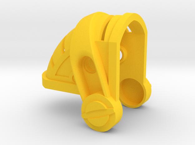 Sunua Shoulder Armor in Yellow Processed Versatile Plastic